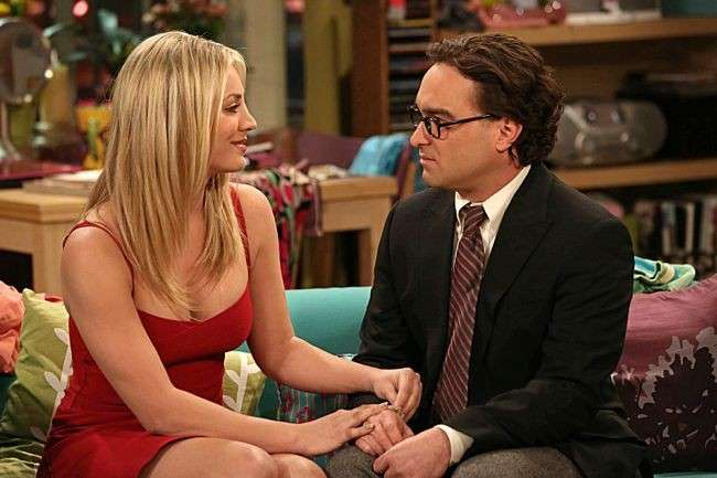 Big Bang theory - Penny e Leonard