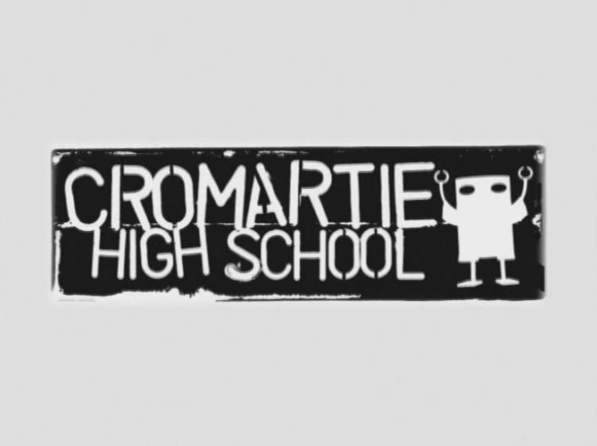 Cromartie High School, logo