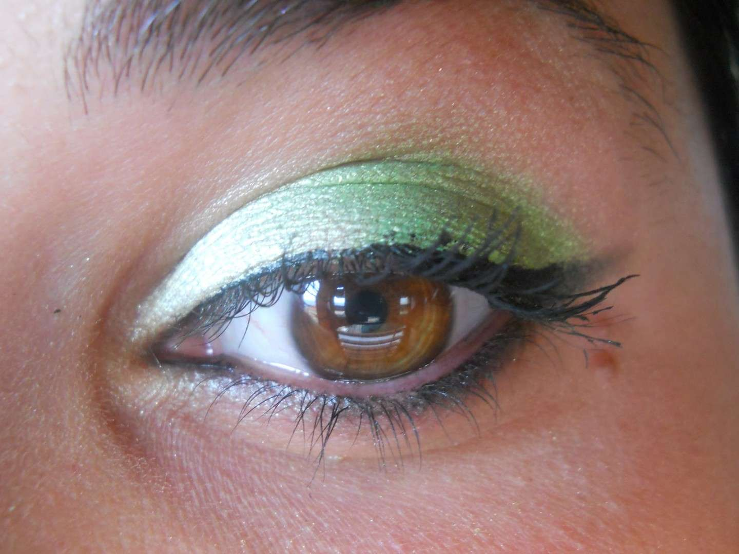 Color verde mela per il makeup