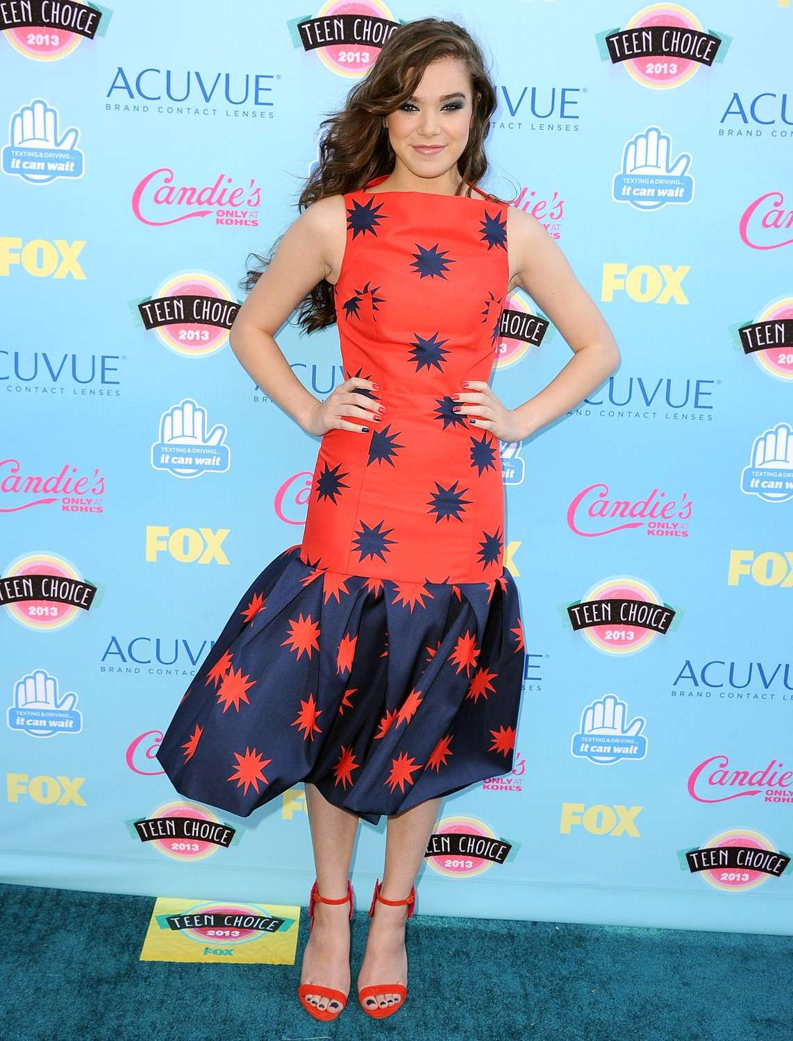 Hailee Steinfeld al Choice Awards 2013