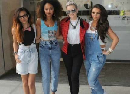 Little Mix in salopette! Foto!