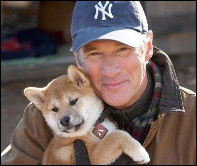 Hachiko e Richard Gere