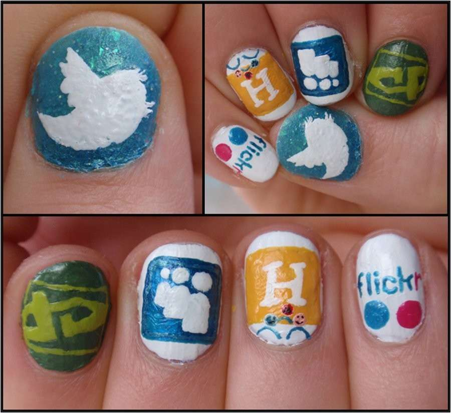 Flickr nail art