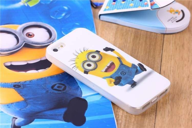 Cover dei Minion rigida per Iphone