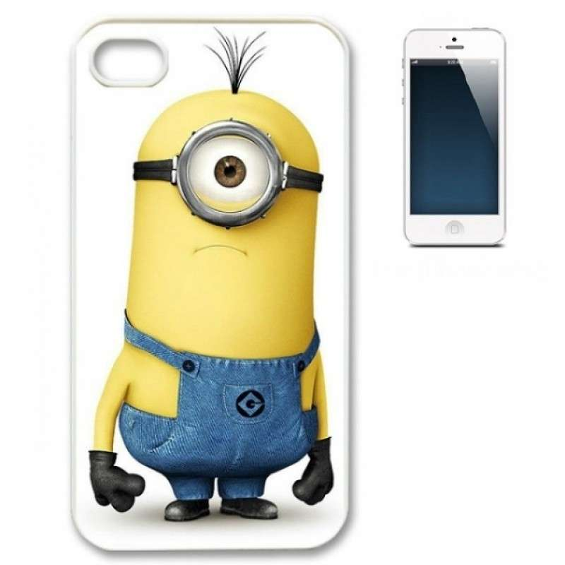 Cover rigida dei Minion per Iphone