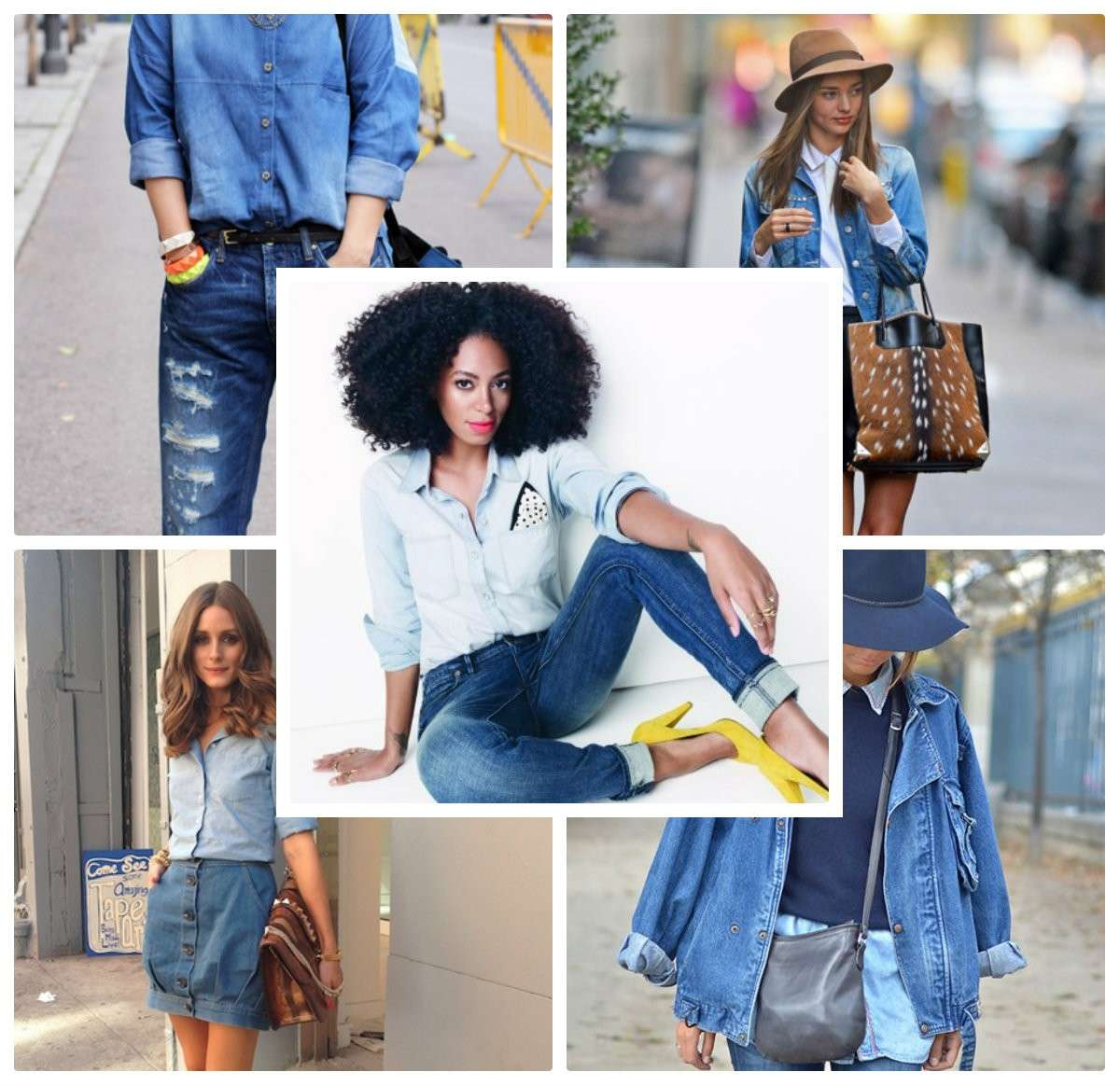 Total look in jeans