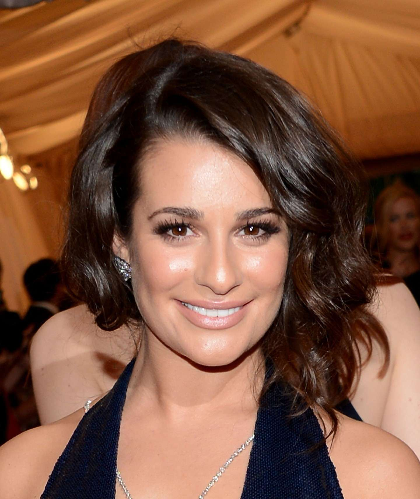 Star con falso caschetto: Lea Michele