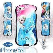Cover per Iphone 5S con Elsa e Anna