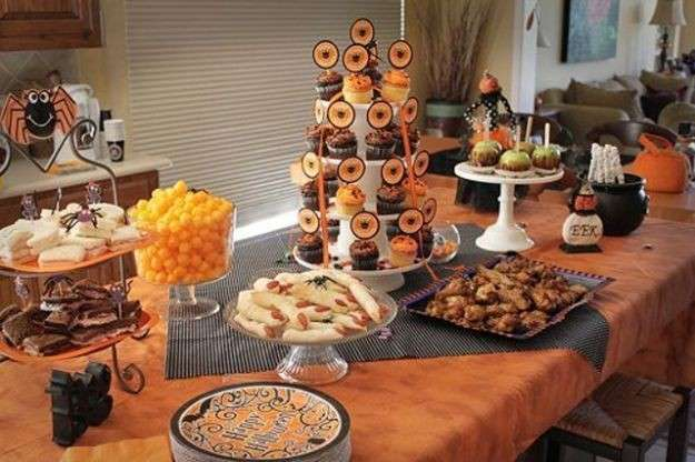 I dolci per il party di Halloween