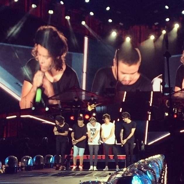One Direction - Where We Are Tour - Balletti