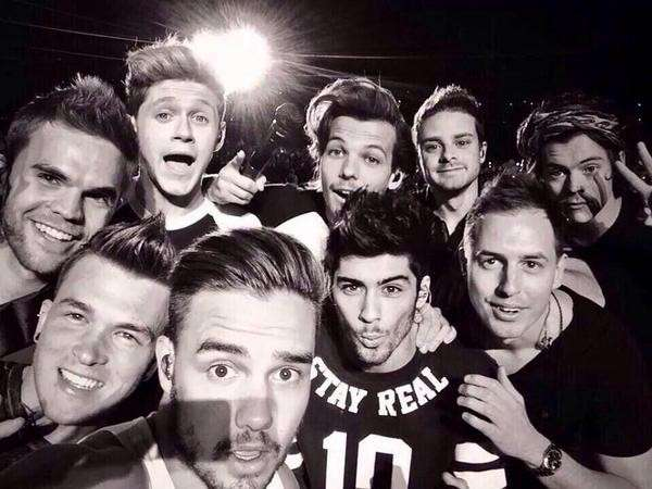 One Direction - Where We Are Tour - Selfie sul palco