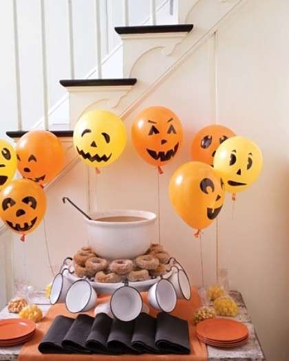 Decorazioni di Halloween fai da te