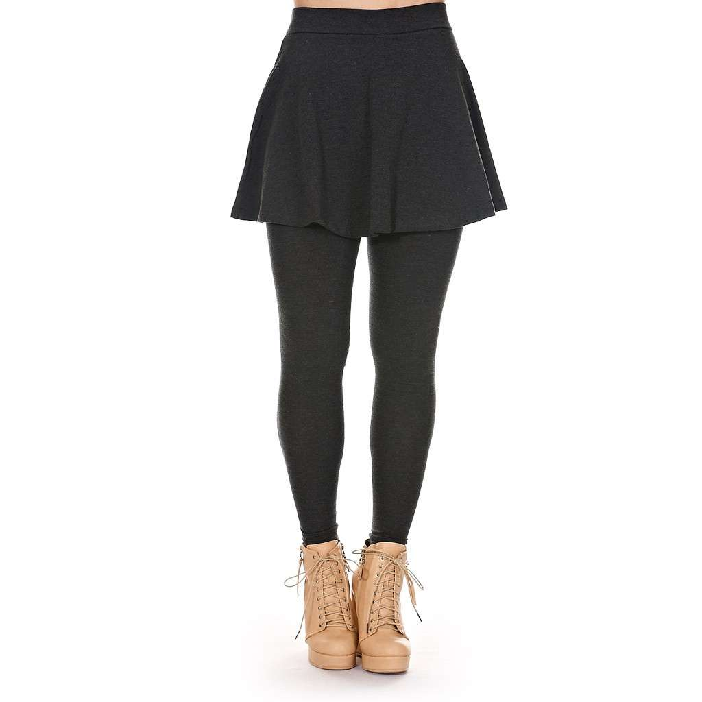 Minigonna con leggings