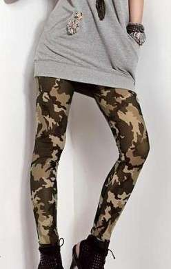 Leggings mimetici