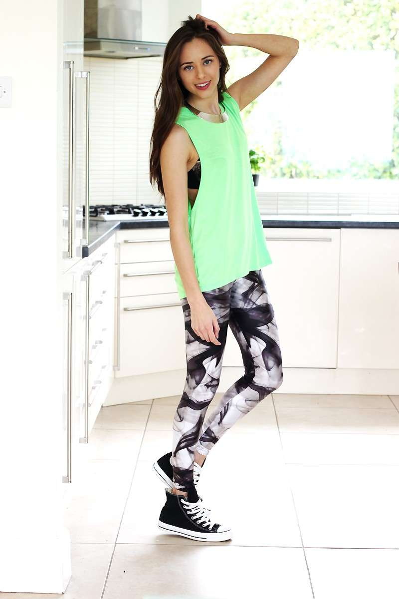 Maxi canotta e leggings
