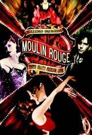 Il bellissimo film ambientato a Parigin, Moulin Rouge
