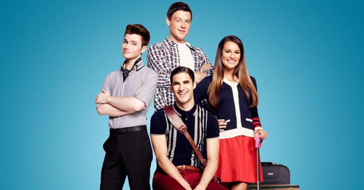Il cast di Glee