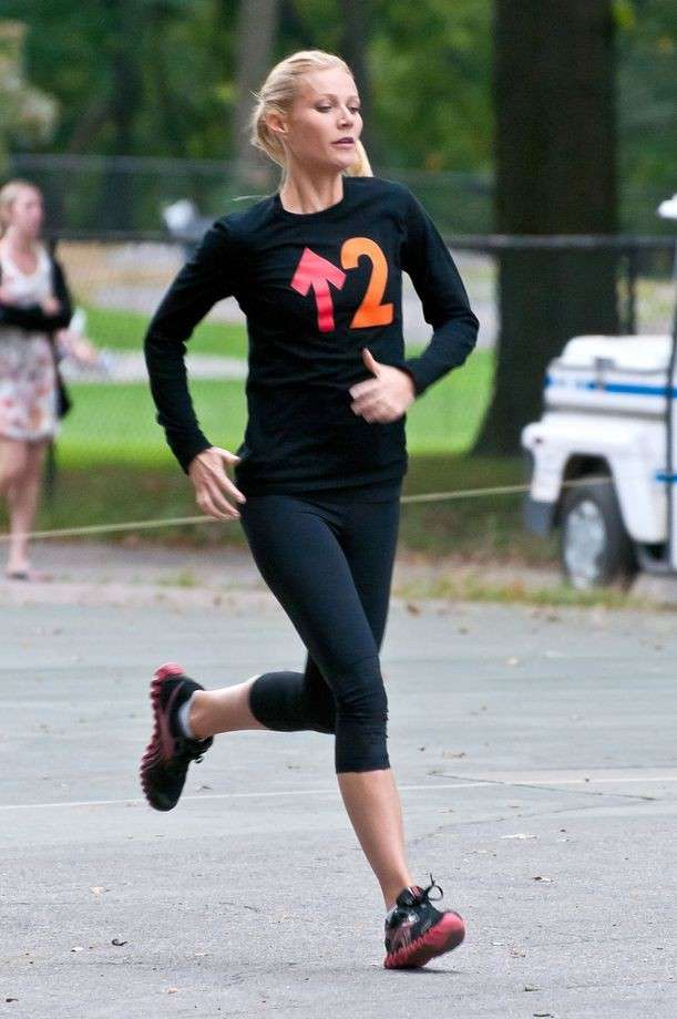 Gwyneth Paltrow fa jogging