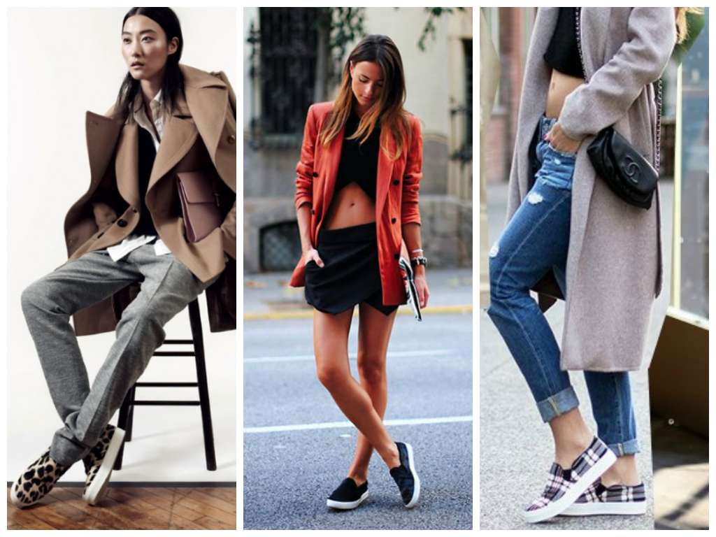Le slip on per l'autunno inverno 2015