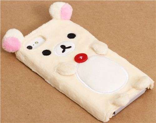 Simpatiche cover di peluche per Iphone