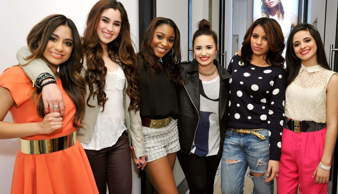 Le Fifth Harmony e Demi Lovato
