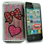 Cover per iphone con strass