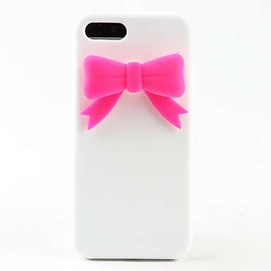 Cover in silicone con fiocco, per iphone