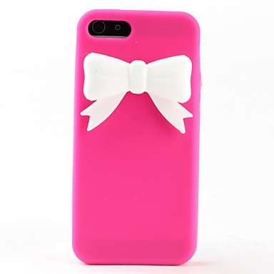 Cover fucsia per iphone con fiocco