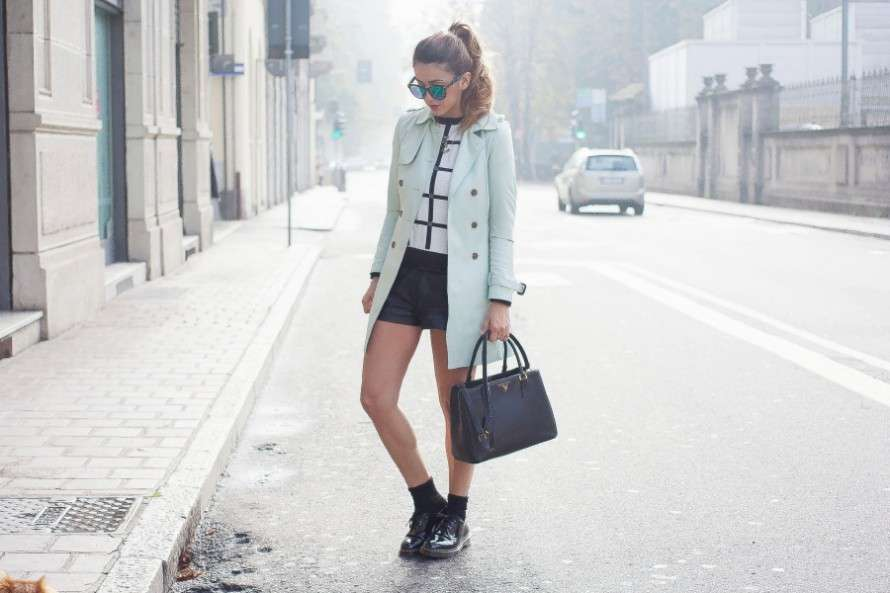 Look con Dr Martens in inverno