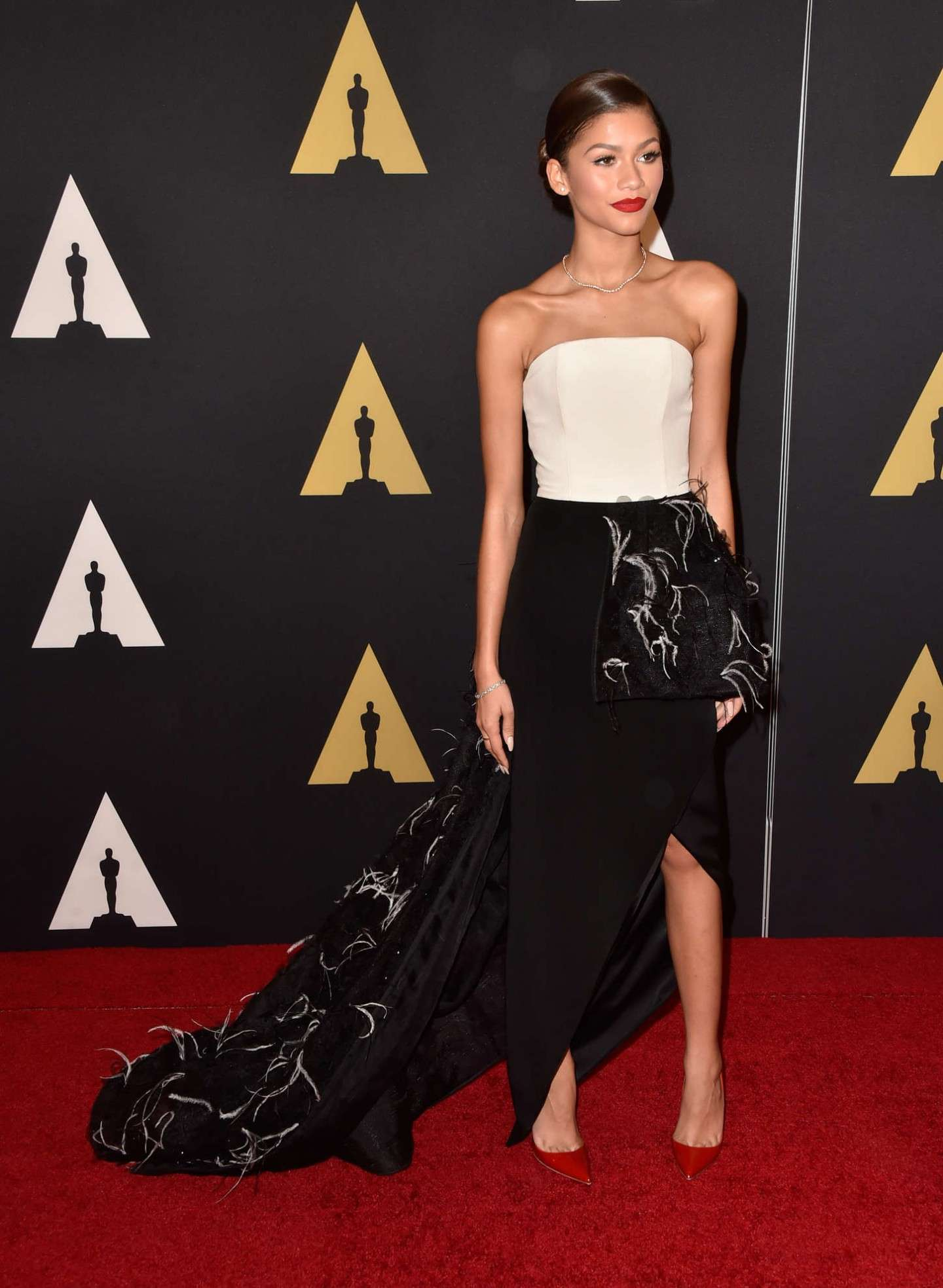 Elegante Zendaya sul red carpet
