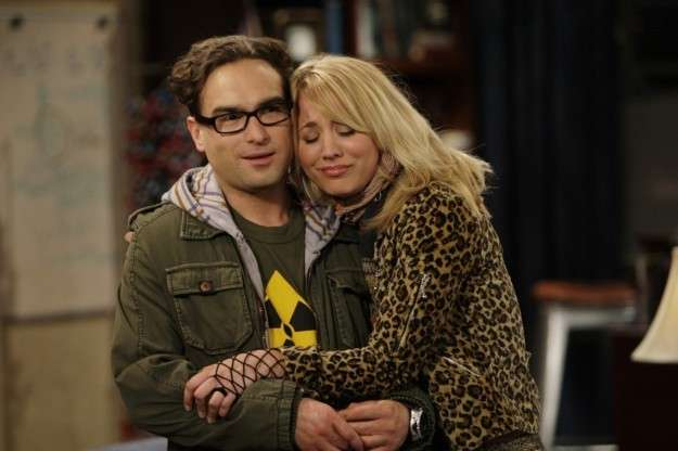 Coppie dei telefilm: The big bang theory