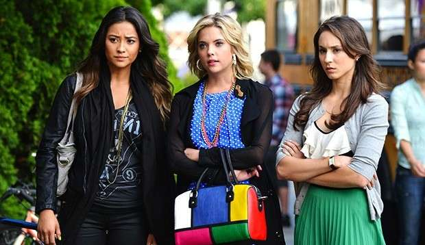 Emily, Hanna e Spencer di Pretty Little Liars