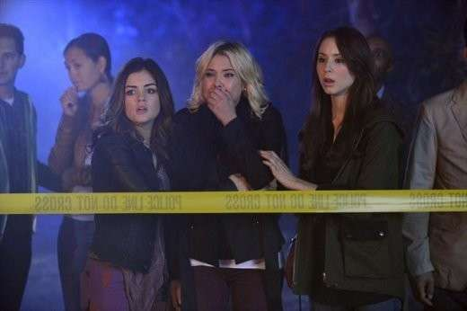 Pretty Little Liars e la scena del delitto