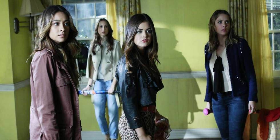 Un momento di suspance in Pretty Little Liars