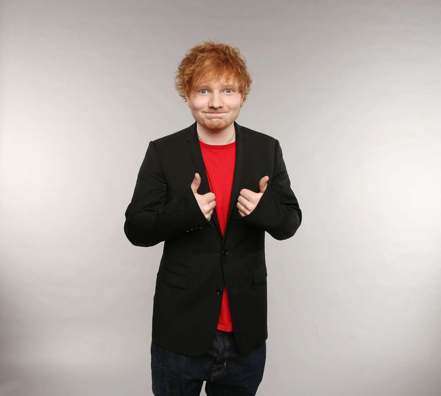 Ed Sheeran e il look casual