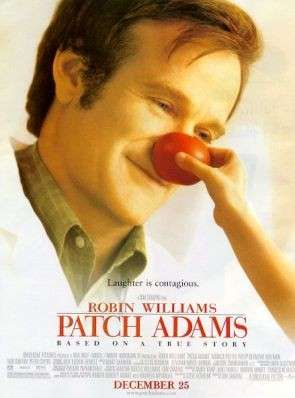 Patch Adams, la locandina