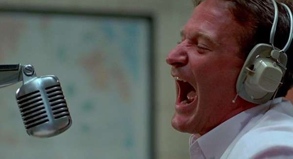 Una scena di Good morning Vietnam