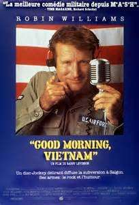 Good morning Vietnam, la locandina