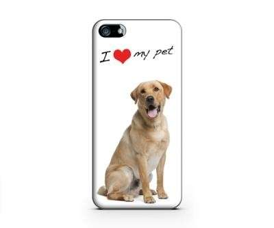 Cover con scritta I love my Pet