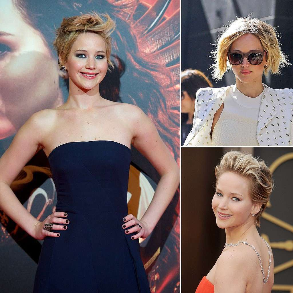 Le acconciature di Jennifer Lawrence