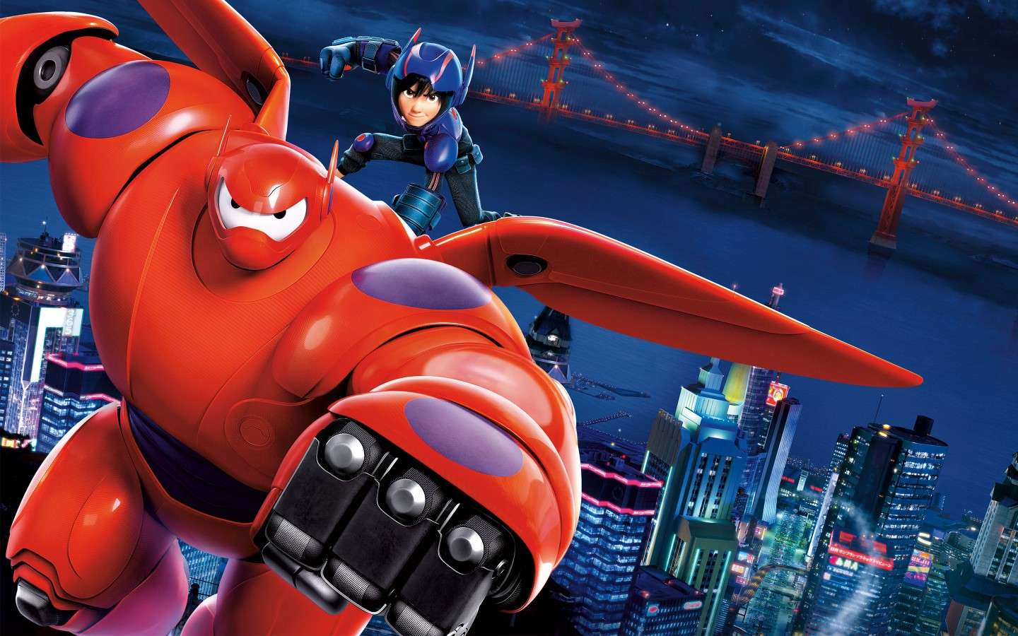 Pronti a combattere in Big Hero 6