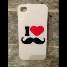 Cover per iPhone con baffi
