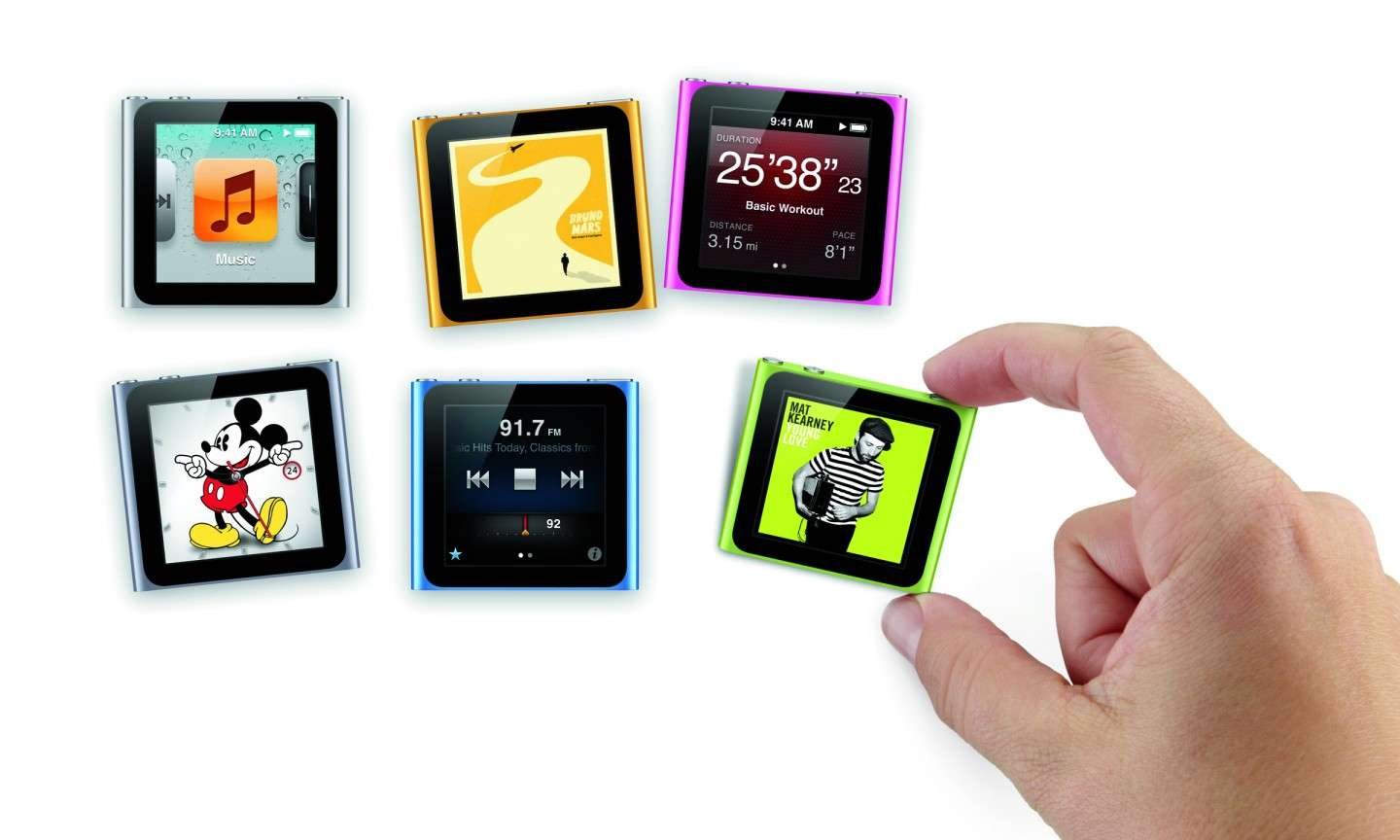 Regali hi tech per Natale 2014: iPod Nano