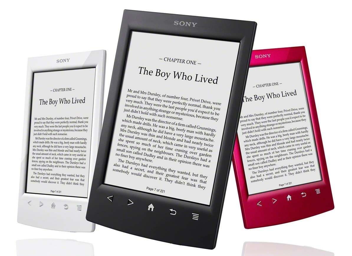 Ebook reader colorato da regalare a Natale