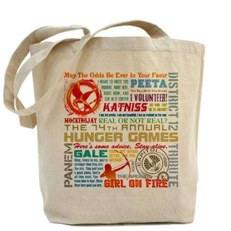 Shopper bag di Hunger Games