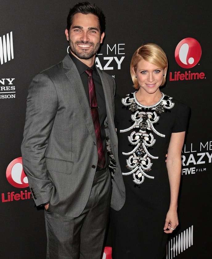 Brittany Snow e Tyler Hoechlin  sul red carpet