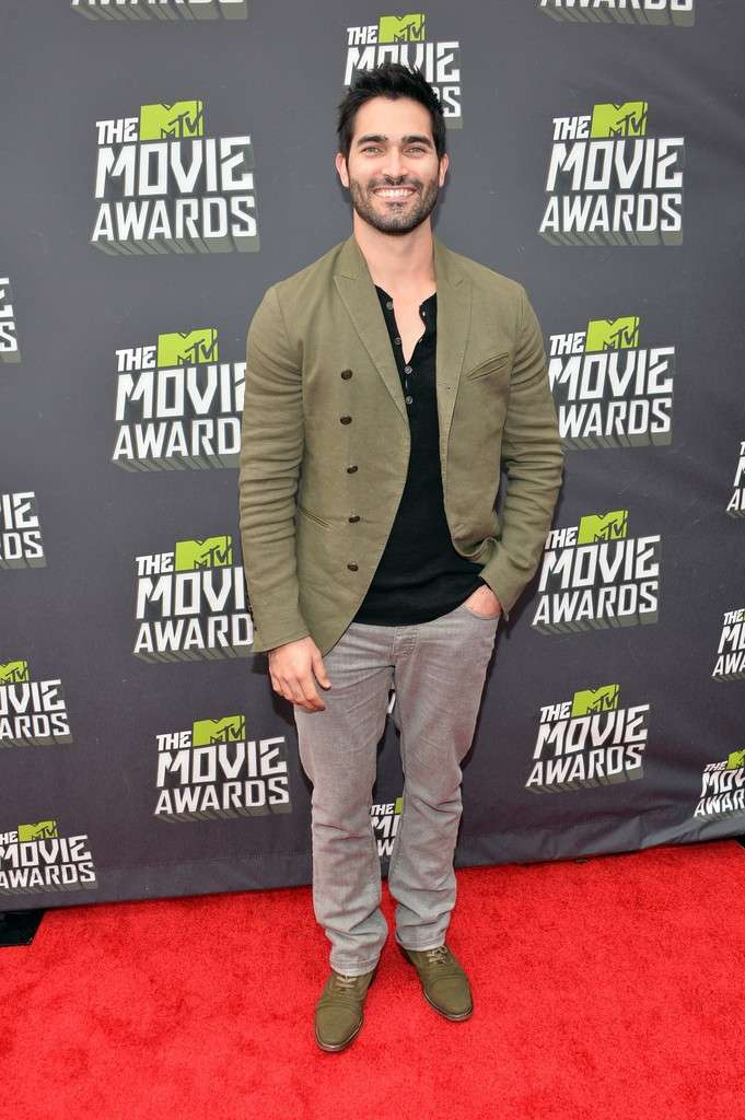 Tyler Hoechlin sul red carpet
