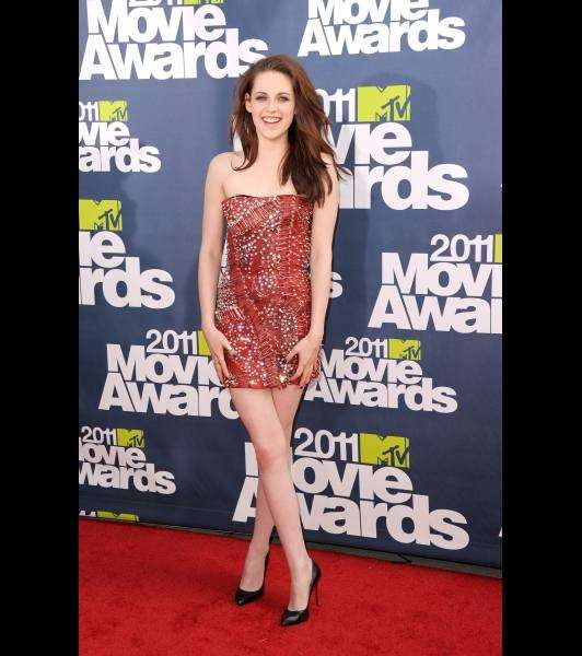 Kristen Stewart agli MTV Movie Awards del 2011