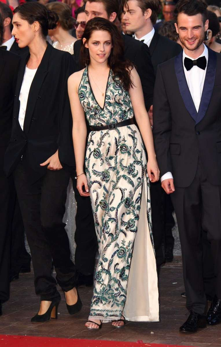 Kristen Stewart alla premiere di On The Road nel 2012