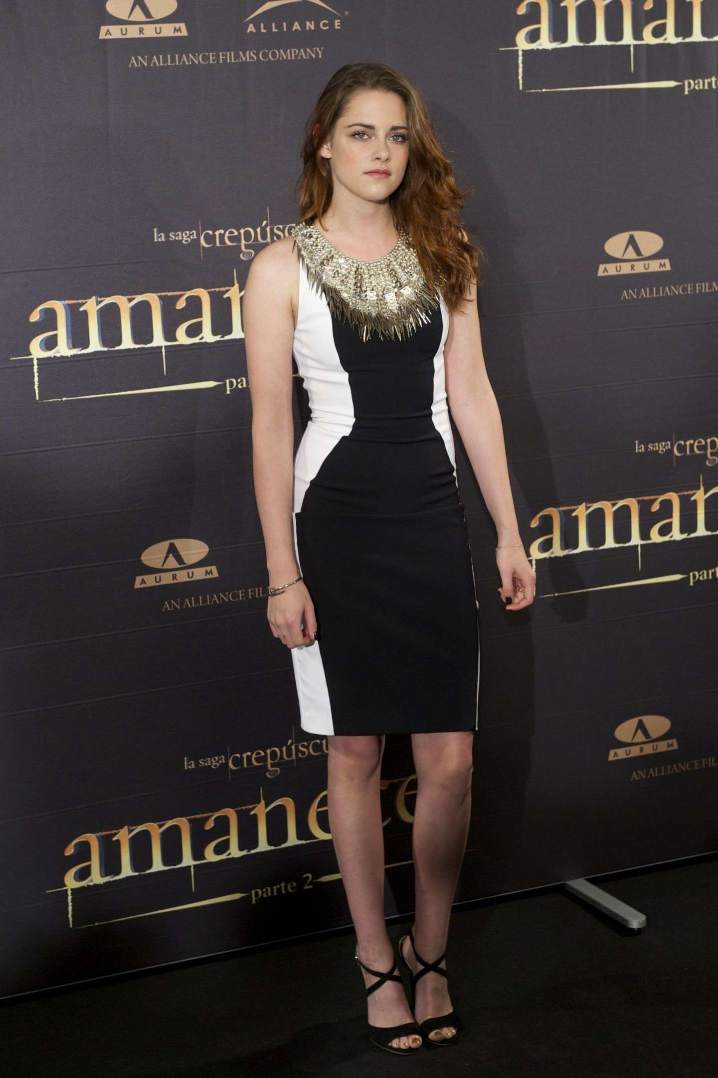 Outfit per la presentazione di The Twilight Saga Breaking Dawn Part 2 a Madrid